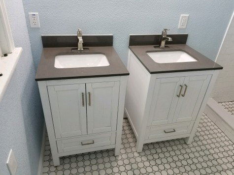 Vanities by The Property Brothers with soft close features
