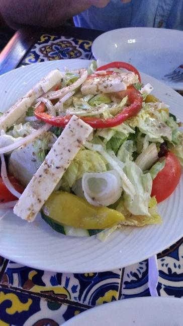 Greek Salad at Hellas